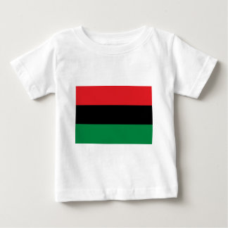 Red Black and Green Pan-African UNIA flag Baby T-Shirt