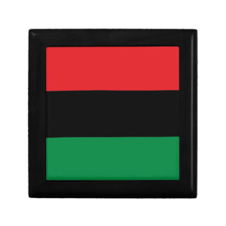 Red Black and Green Pan-African UNIA flag Gift Box