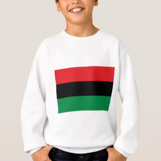 Red Black and Green Pan-African UNIA flag Sweatshirt