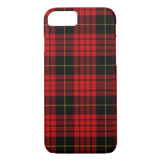 Red, Black and Yellow Plaid Classic iPhone 8/7 Case