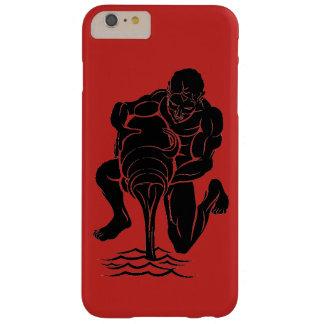 Red & Black Aquarius, iPhone / iPad case
