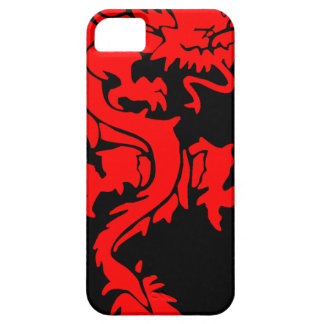 Red/Black Dragon Iphone 5 Case