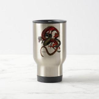 Red & Black Dragons Mug