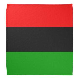 Red, Black, Green Pan African Flag Bandannas
