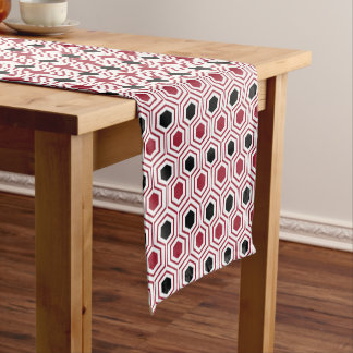 Red Black Honey Short Table Runner