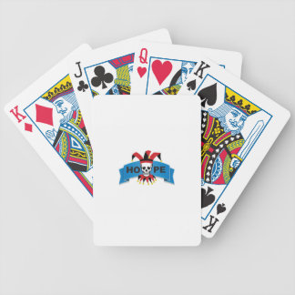 red black joker of death bicycle playing cards