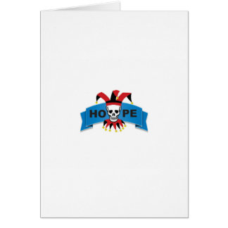 red black joker of death card