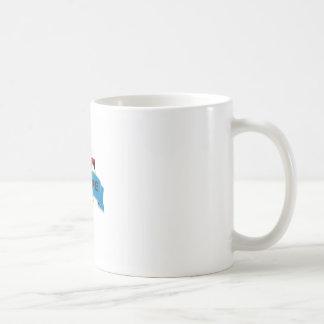 red black joker of death coffee mug