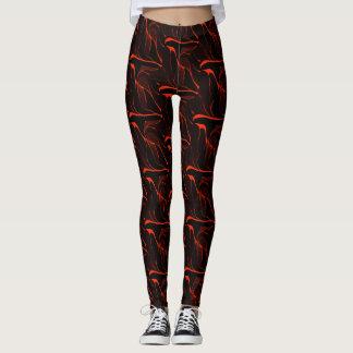 Red/Black Leggings