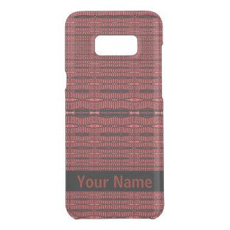 Red Black Modern Pattern Get Uncommon Samsung Galaxy S8 Plus Case