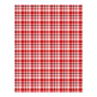 Red Black Scrapbook Paper