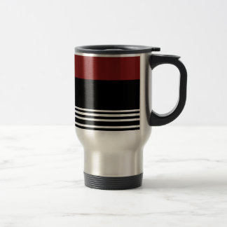 Red /Black/ Silver > Coffee Travel Mug