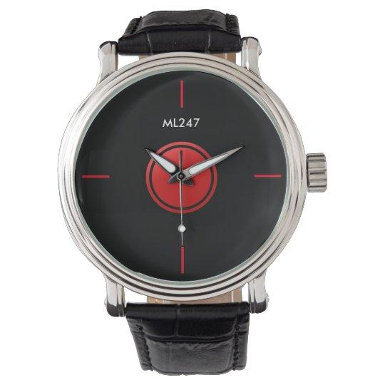 Red & Black Watch