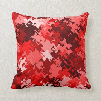 Red/Black/White Abstract 5in1 Cushion 2, see notes