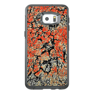 Red Black White Yellow Cracked Earth OtterBox Samsung Galaxy S6 Edge Plus Case