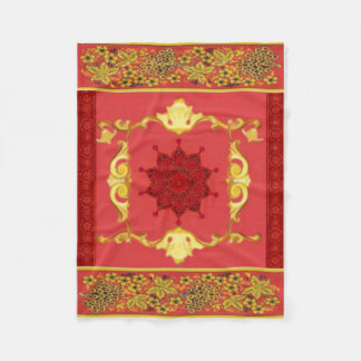 Red blanket floral Mihy, Exclusive right!