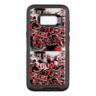 Red Blck OtterBox Defender Samsung Galaxy S8+ Case