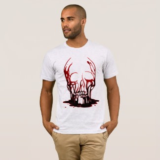Red Bloody Skull Shirt