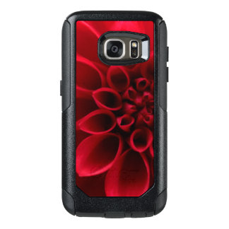 Red Bloom Flower OtterBox Samsung Galaxy S7 Case