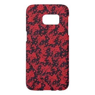 Red Blooms Samsung Galaxy S7 Samsung Galaxy S7 Case