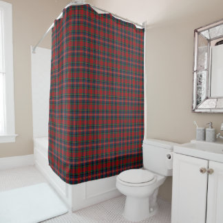 Red, Blue, and Green Scottish MacPherson Tartan