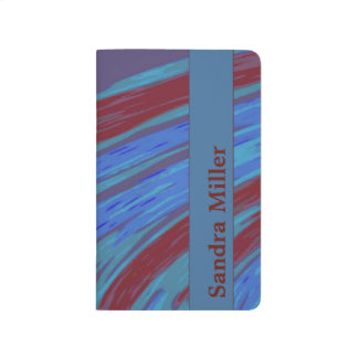 Red  Blue Color Swish Journal