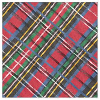 Red, Blue, green tartan Fabric