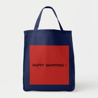 Red- Blue shopping bag