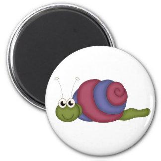 Red & Blue Snail Magnet
