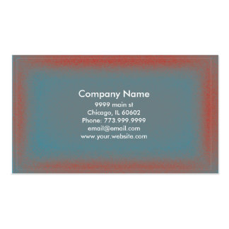 Red & Blue Square Gradient Business Card
