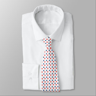 Red & Blue Stars Tie