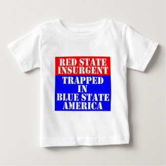 red-blue-state baby T-Shirt