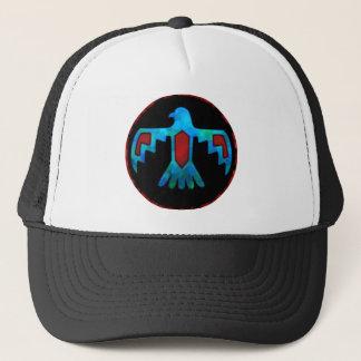 Red & Blue Thunderbird Cap Trucker Hat