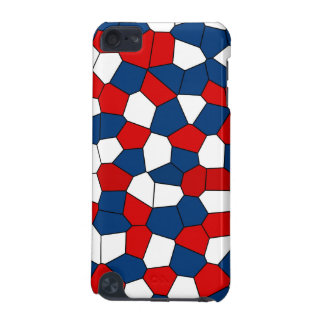 Red Blue White Pattern iPod Touch (5th Generation) Cases