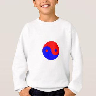 Red Blue Yin Yang Sweatshirt