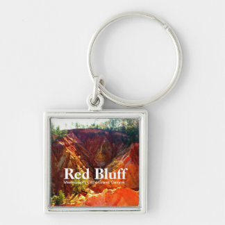 Red Bluff - Mississippi's Little Grand Canyon Keychain