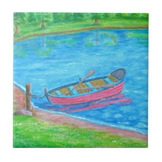 red Boat Ceramic Tile