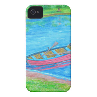 red Boat iPhone 4 Case-Mate Cases