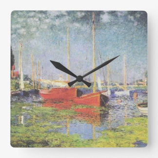 Red Boats at Argenteuil Clock
