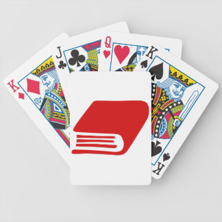 Red Book Bicycle Playing Cards