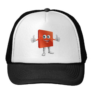 Red book man doing thumbs up trucker hat