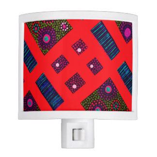 Red Boomble Bee Night Light