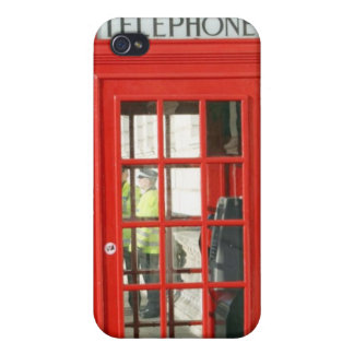 Red Booth Case For The iPhone 4