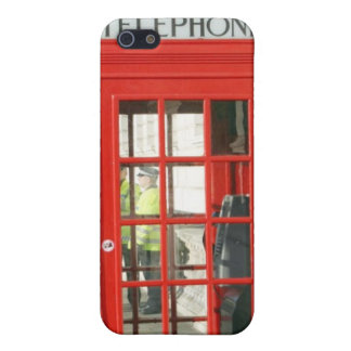 Red Booth iPhone 5/5S Cases