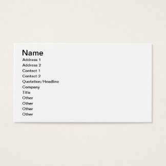 Red-bordered Pixie on white brush Business Card