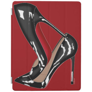 red bottom shoes STACKED iPad Cover