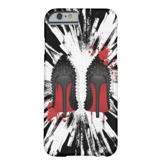 red bottoms stilettos with CRAZY background Barely There iPhone 6 Case