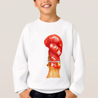 Red Boxing Glove Sweatshirt