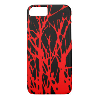 red branches iPhone 7 case