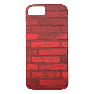 Red Brick Rustic Country Farmhouse iPhone 8/7 Case